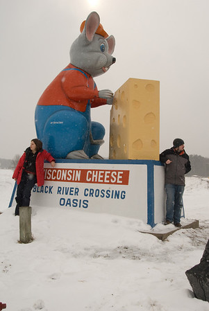 Black River Falls cheese mouse